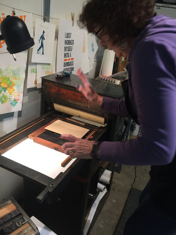 NEW Creative prints- Letterpress  [2 part class] [6:30-9:00] Mar 21 & 28, April 2 & 9
