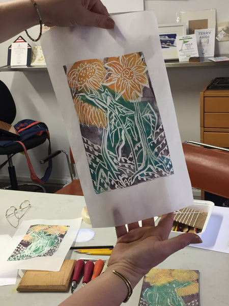 Back again by popular demand! Master printmaker Doris Rogers-Custom Creative Printmaking and letterpress