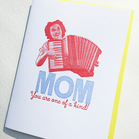Accordian Mom-one of a kind!