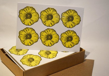 Buttercup notecards are here!
