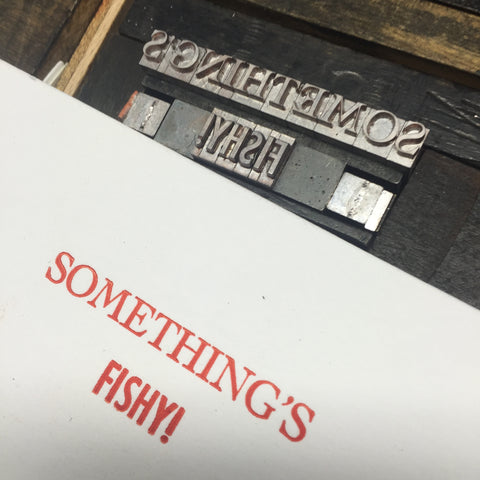 Letterpress for your group