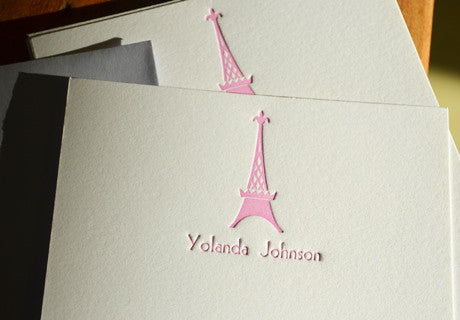 Personal Stationery LOVE Paris!