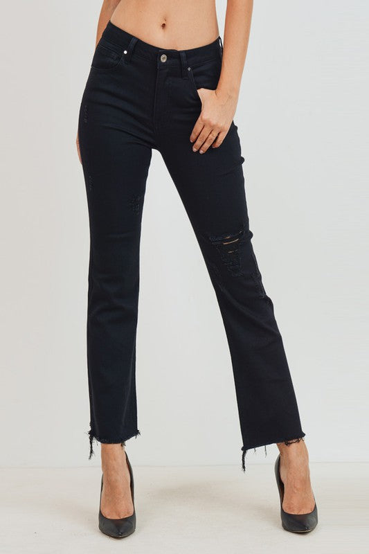 Best Fit High Rise Crop Flare