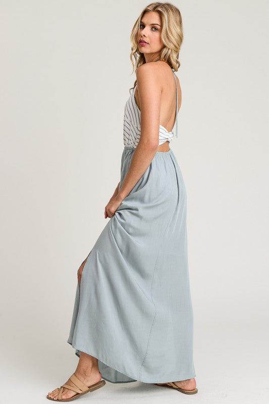 Shore House Stripe Maxi