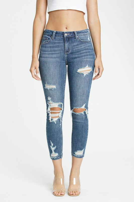 Josie Mid-Rise Jeans
