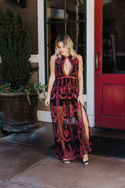 Sweet Dreams Embroidered Maxi