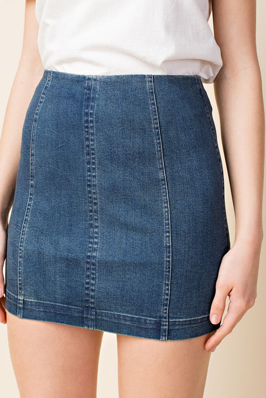 Modern Made Denim Skirt