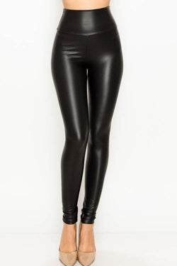 American Fit Leather Leggings