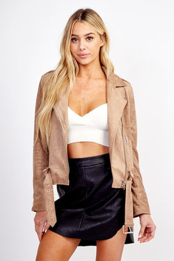 Desert Sands Suede Jacket