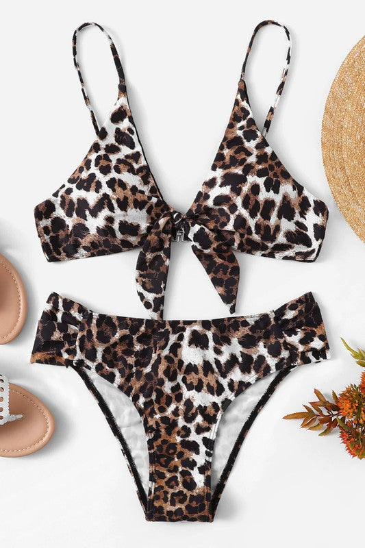 Leopard Two Piece