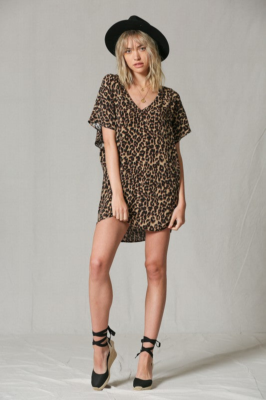 Safari T-Shirt Dress