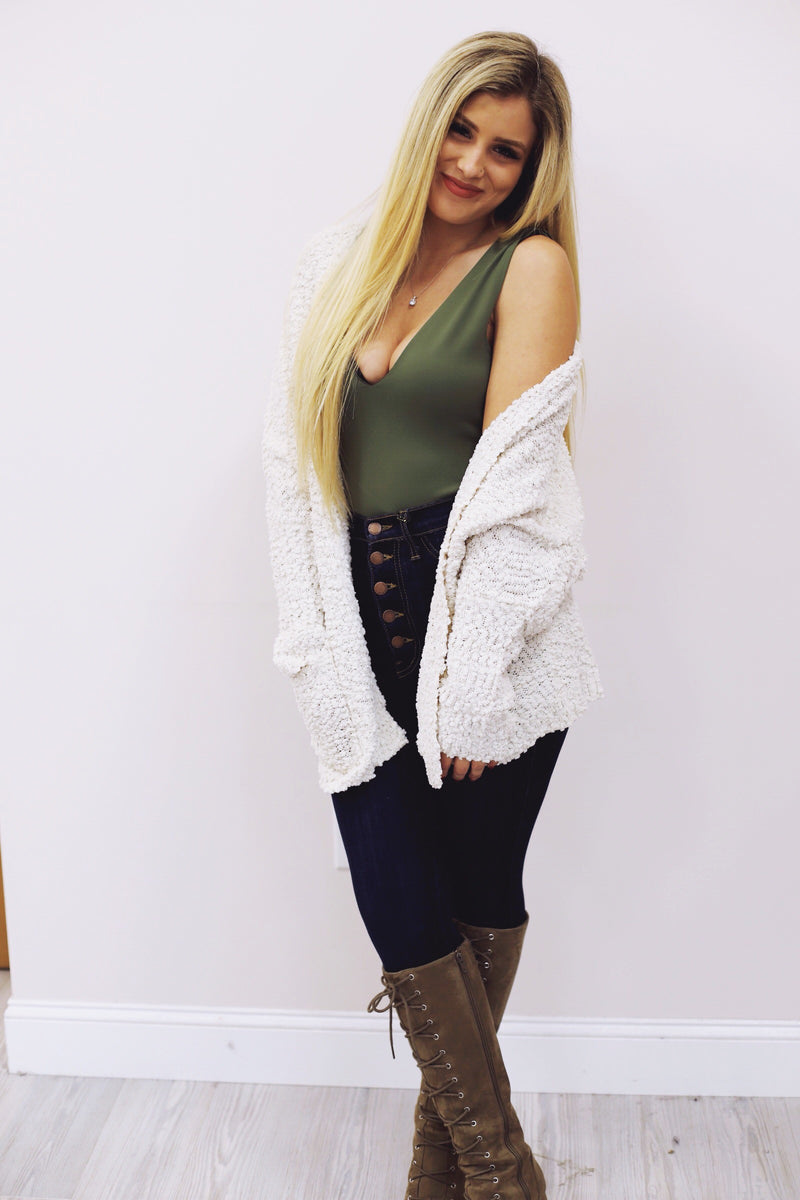 Bundle Up Cardigan