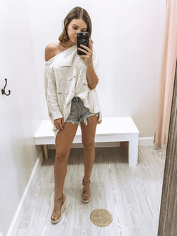 Sugar + Spice Sweater - Ivory