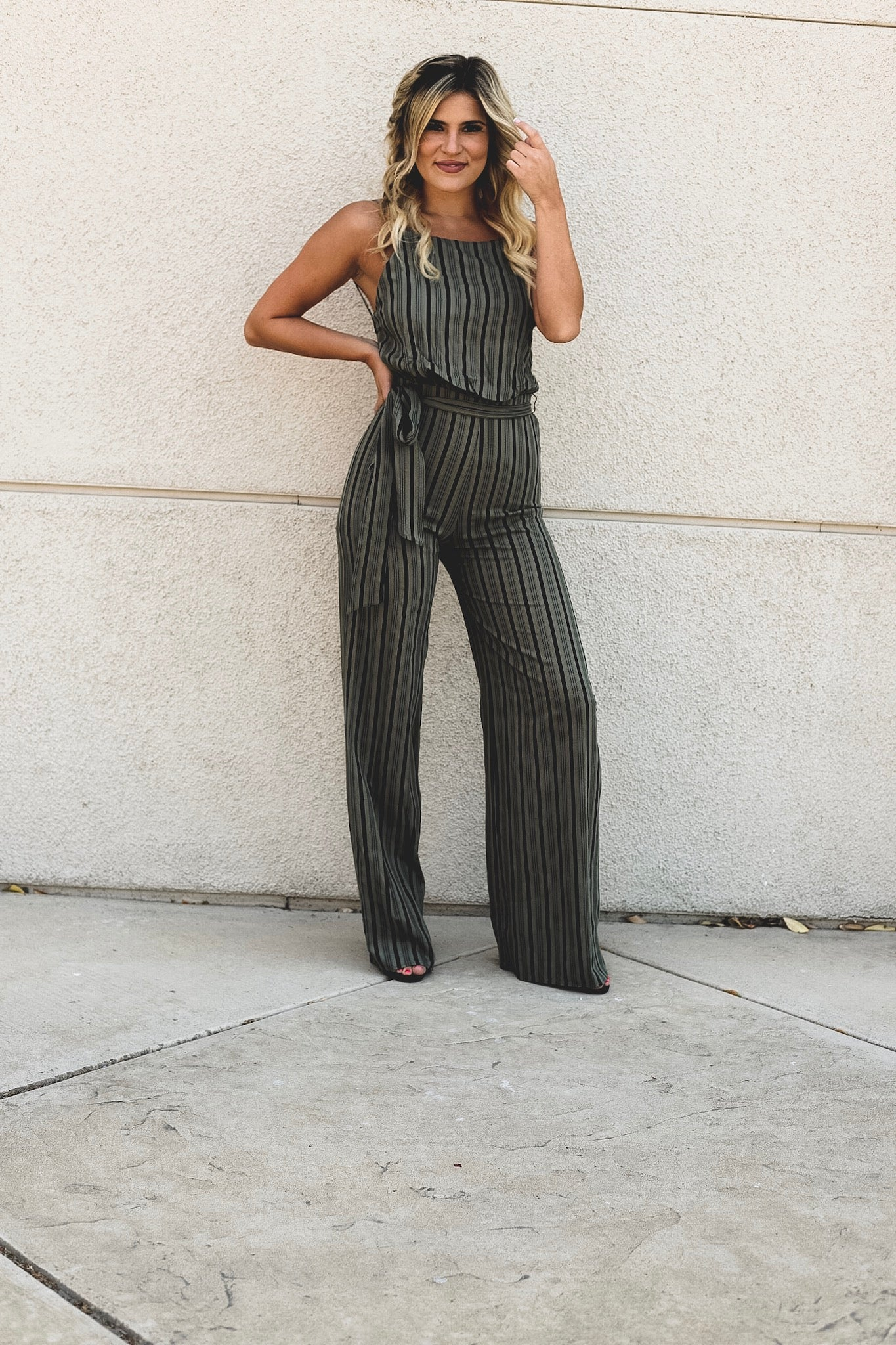 Jade Open Back Jumpsuit