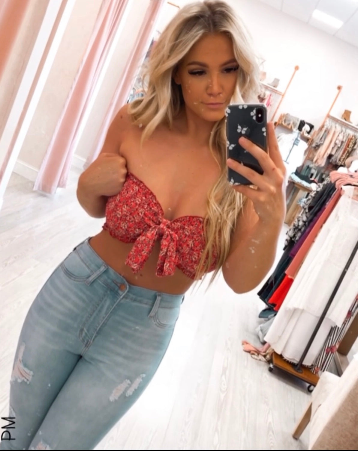 Brielle Tie Tube Top