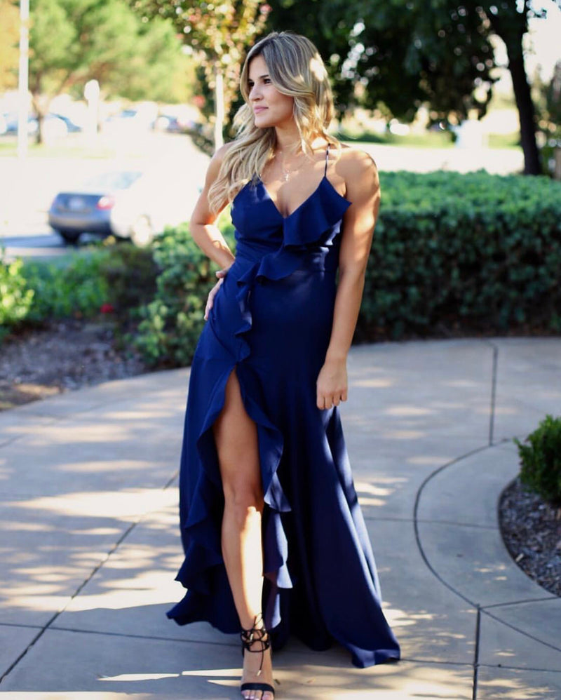 Empire Ruffle Maxi