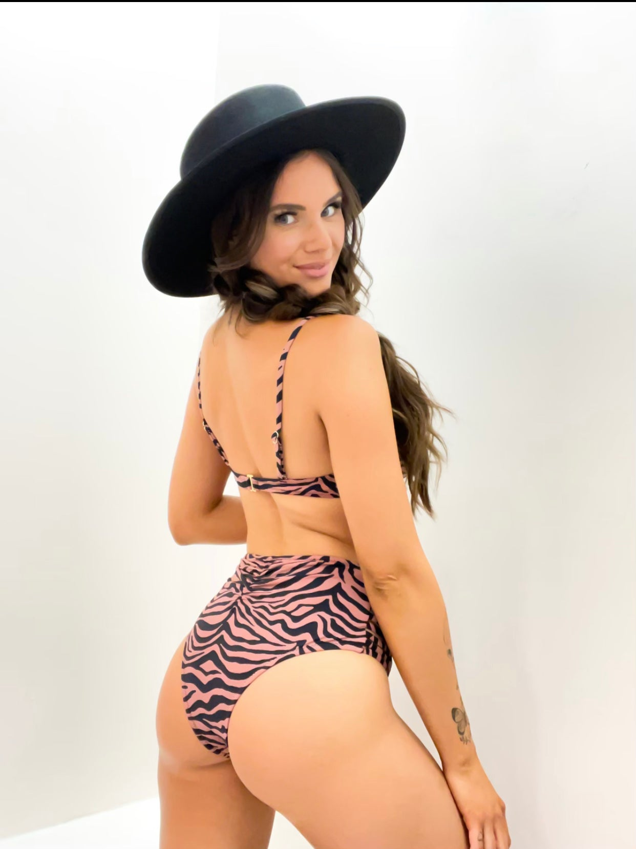 Zebra Two Piece