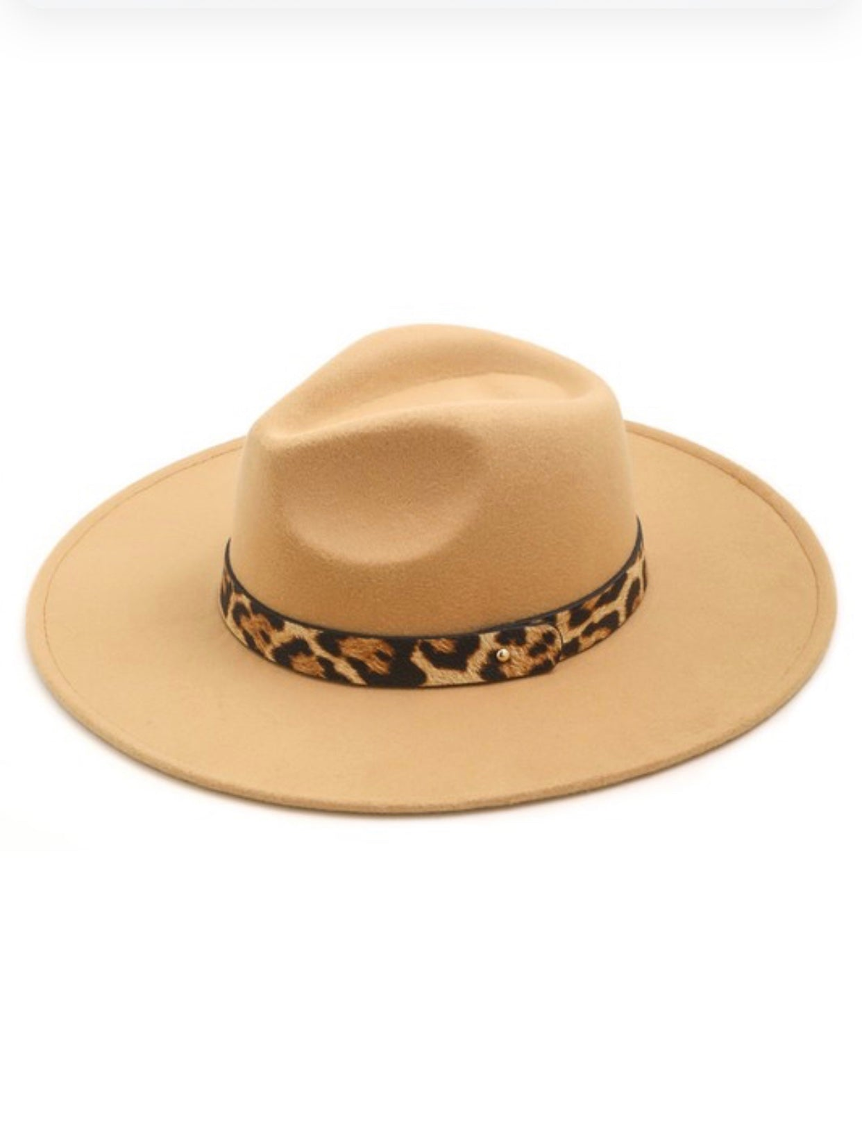 Leopard Belt Hat