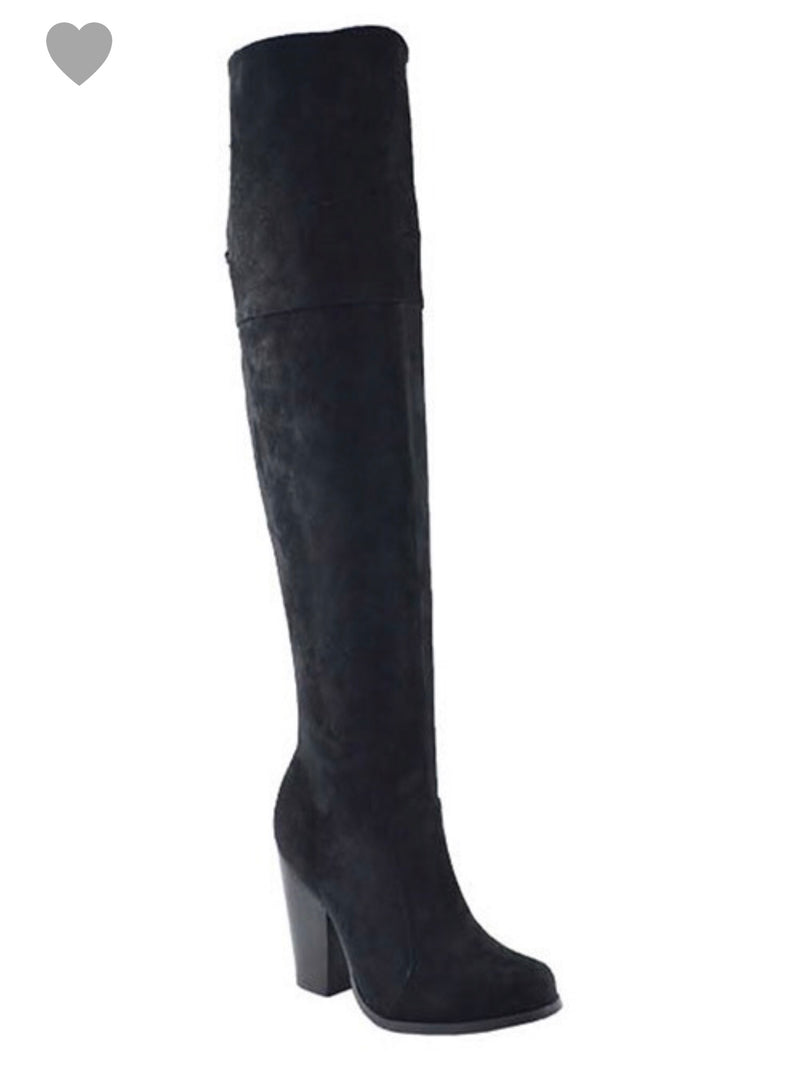 Chase + Chloe Over The Knee Boot