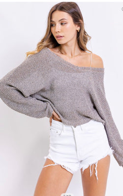 Winter Slopes V-Neck Sweater