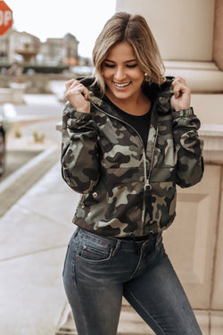 Windy City Camo Pullover