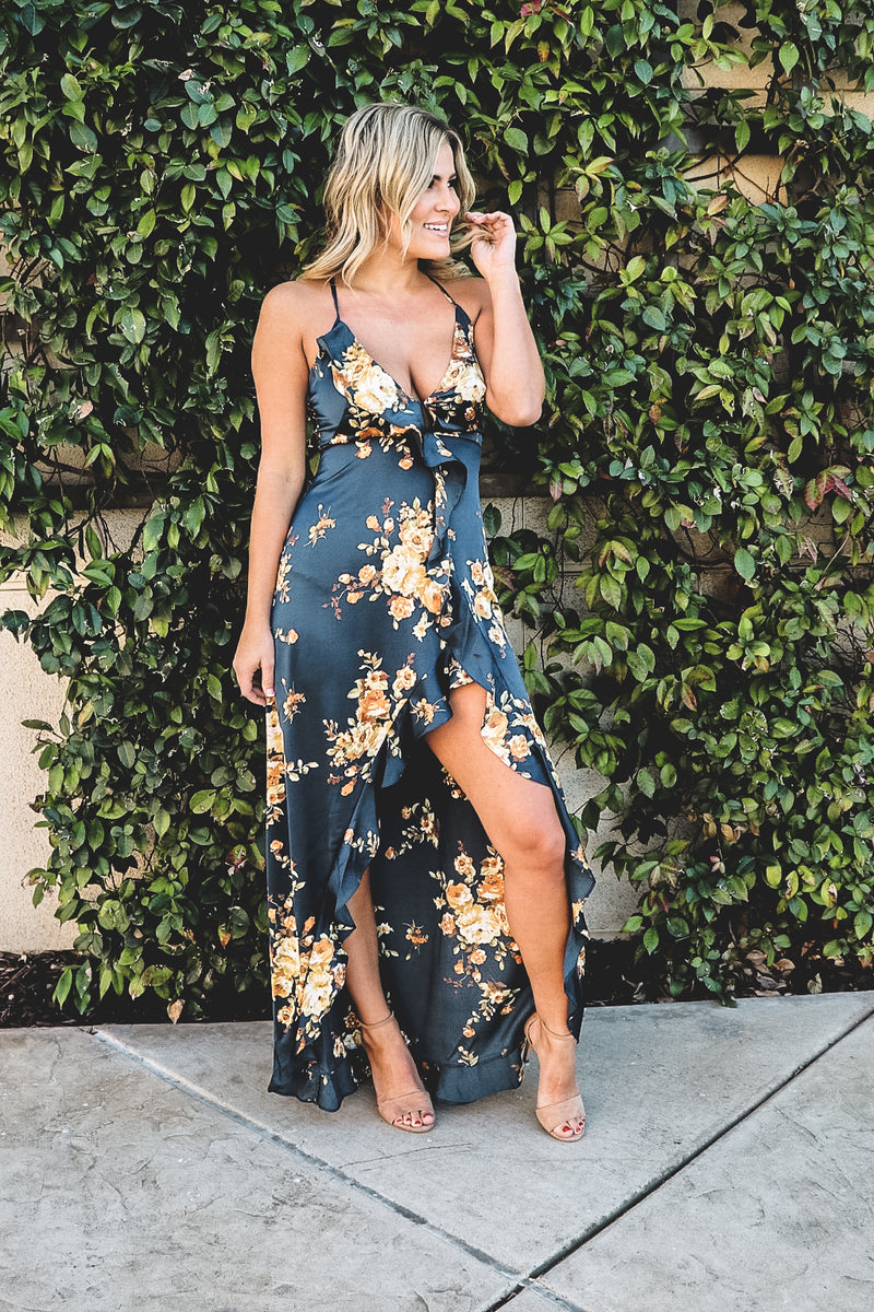Navy Blues Maxi