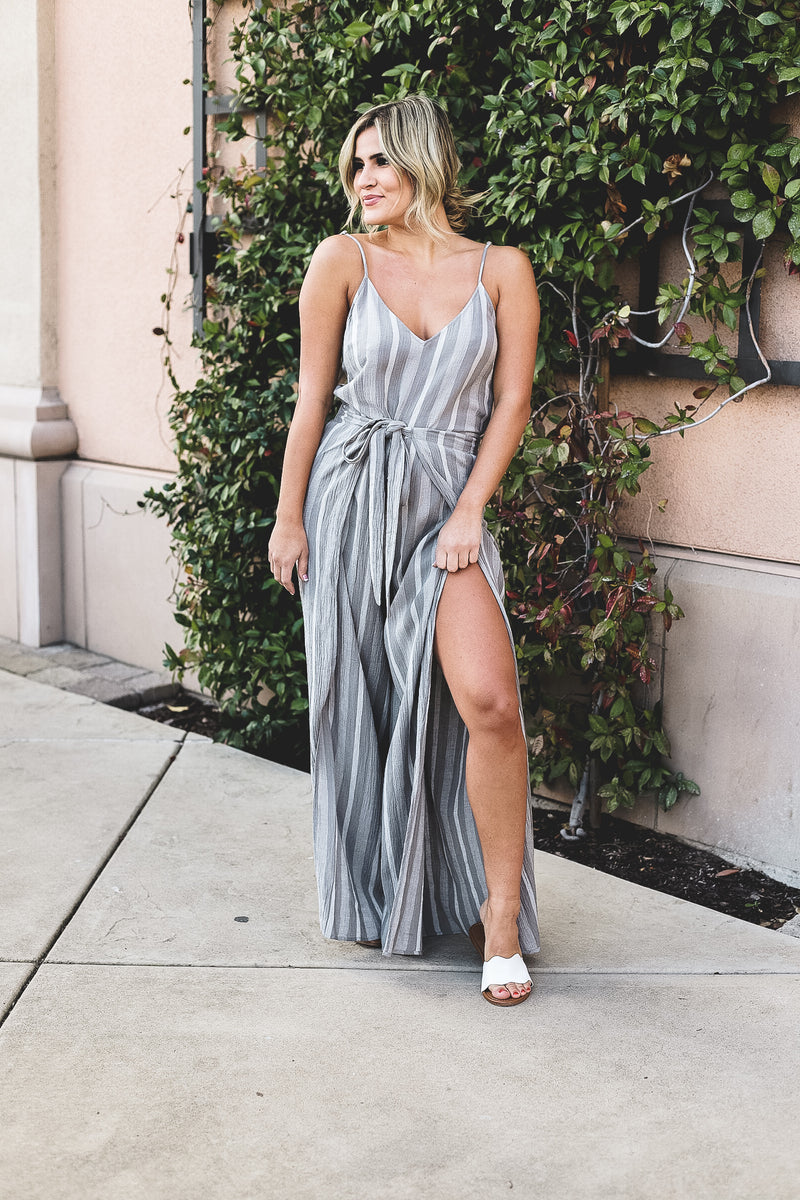 Neoma Striped Jumpsuit