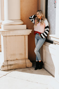 Haley Stripe Sweater