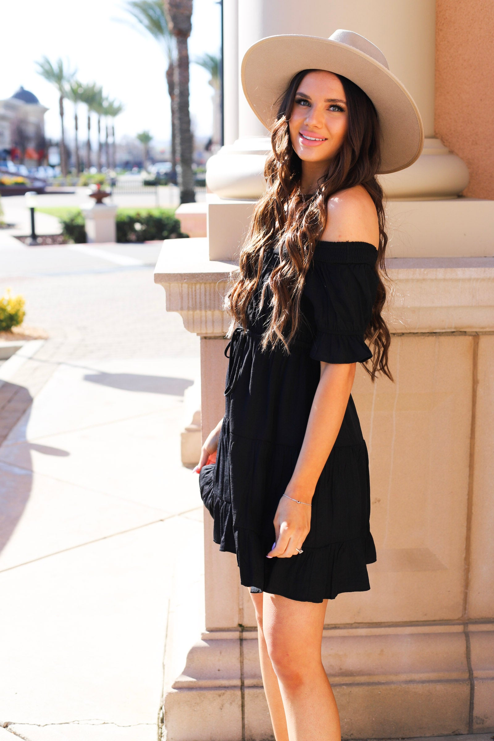 Empire Tiered Dress