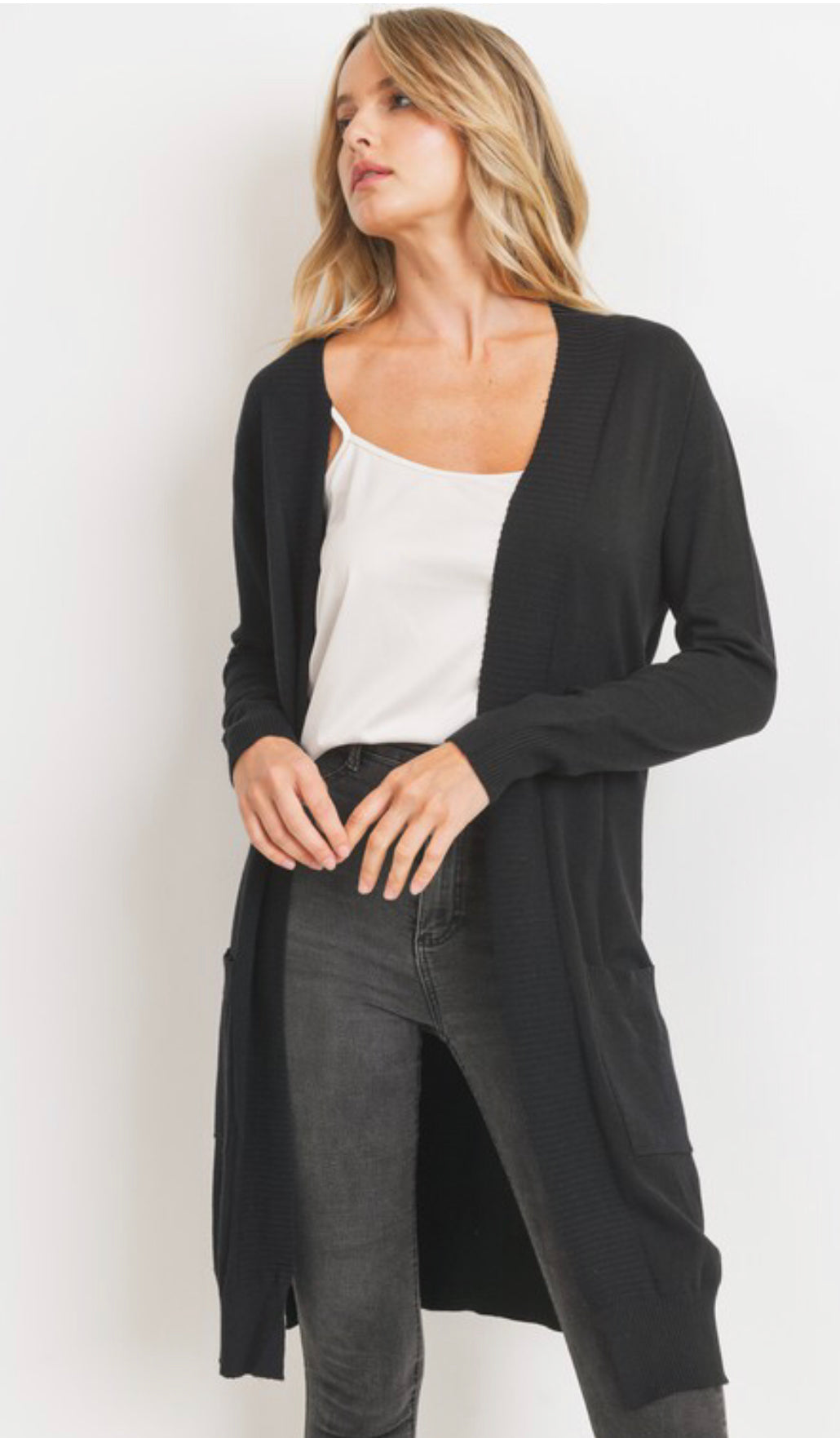 Midnight Duster Cardigan