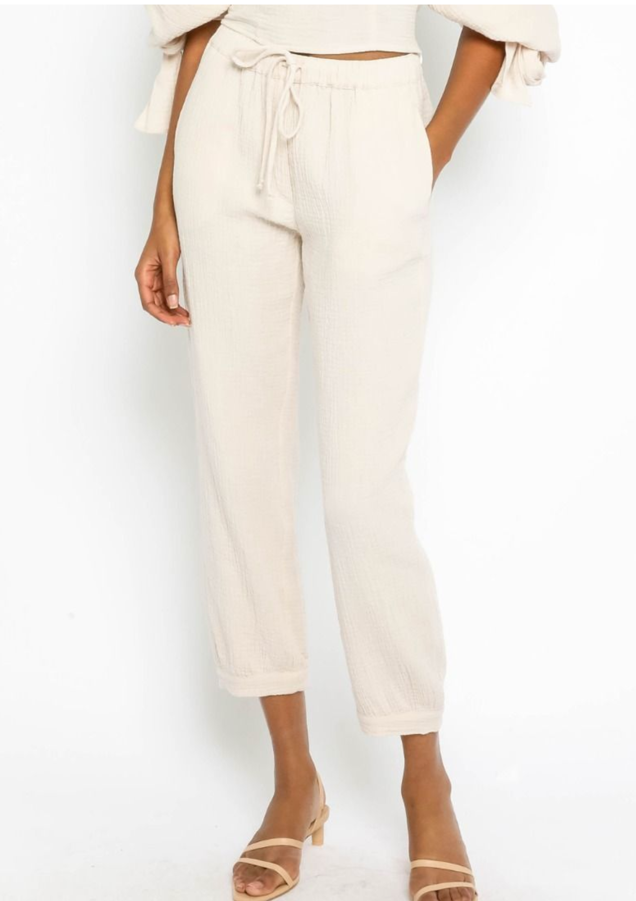 Breezy Drawstring Pants