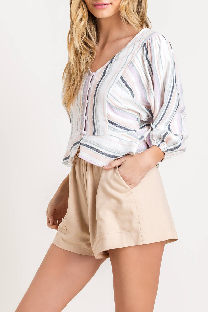 Mexicali Stripe Blouse