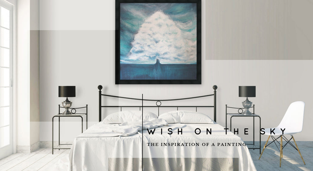 Wish on the Sky - Inspiration of a Painting