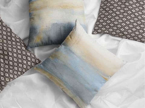 beachy throw pillows