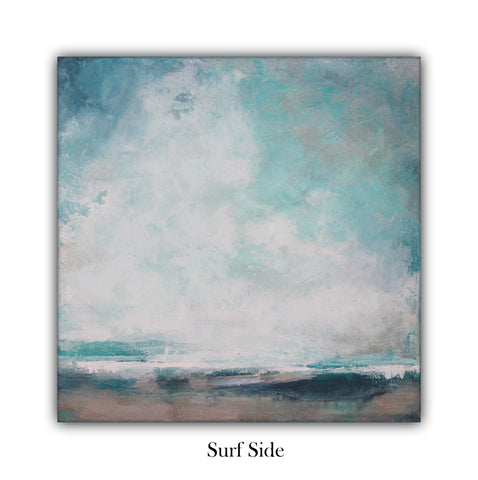 Surf Side Landscape Painting