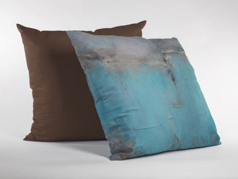 blue and gold throw pillows