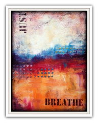just breathe texture painting