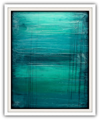 teal abstract lagoon