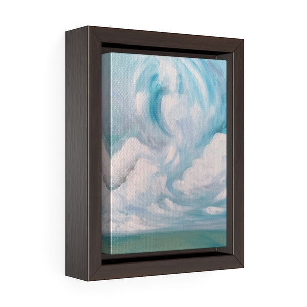 Spring Landscape II - Framed Gallery Wrap Canvas - The Modern Home Co. by Liz Moran