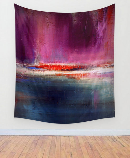 Romance – Purple and Blue Wall Tapestry– Luxe Wall Decor - The Modern Home Co. by Liz Moran