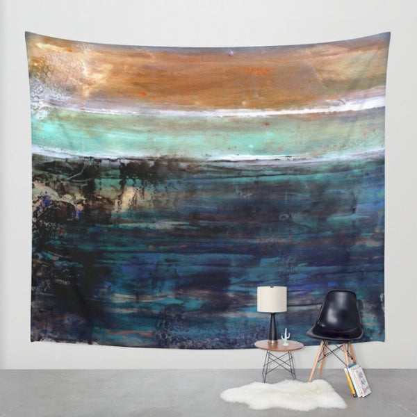 East Coast - Nautical Wall Tapestry - The Modern Home Co. by Liz Moran