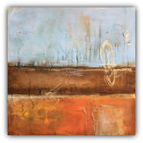 Orient - Metallic Texture Painting - The Modern Home Co. by Liz Moran