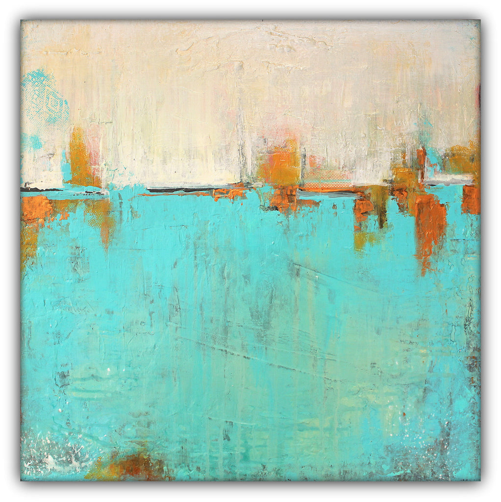 Sea of Whispers - Contemporary Abstract Painting