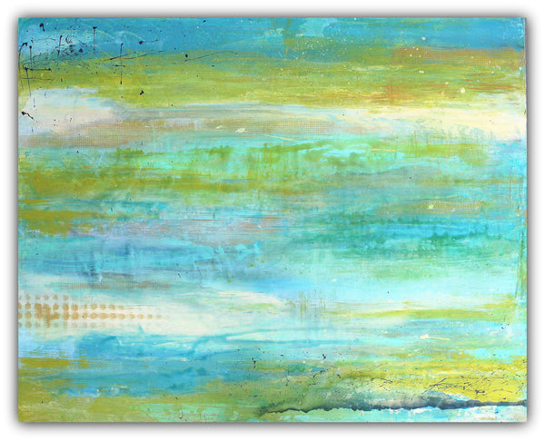 Spring Harmony - Acrylic Canvas Art - Original Abstract Painting