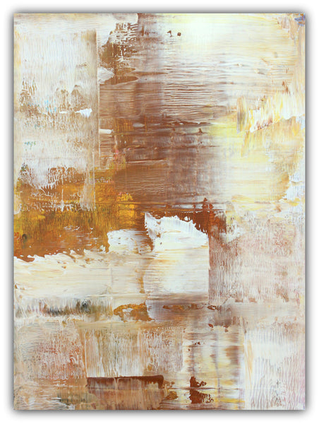 Honey Brown - Canvas Painting - The Modern Home Co. by Liz Moran