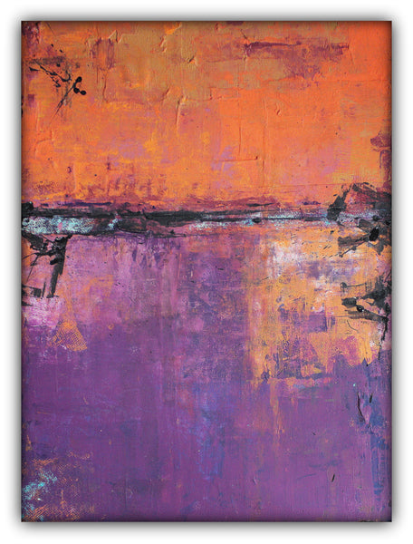 Poetic City - Urban Abstract Painting on Canvas - The Modern Home Co. by Liz Moran