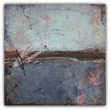 2nd Street Blues - Urban Abstract Painting