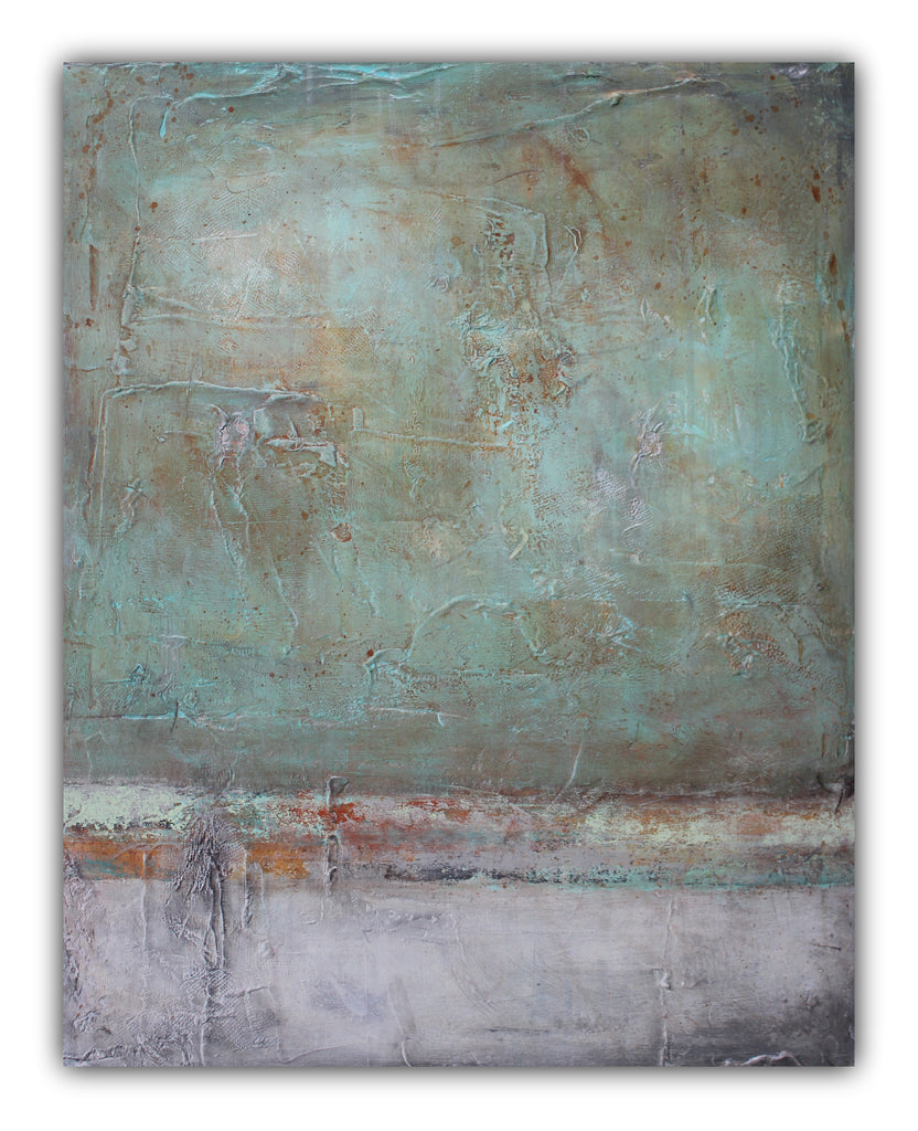 Memories Forgotten - Contemporary Painting - SOLD - The Modern Home Co. by Liz Moran