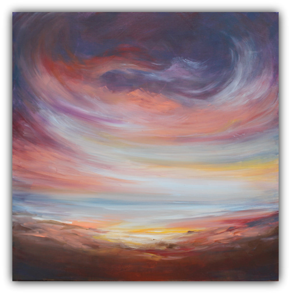 Desert Sky at Dusk - The Modern Home Co. by Liz Moran