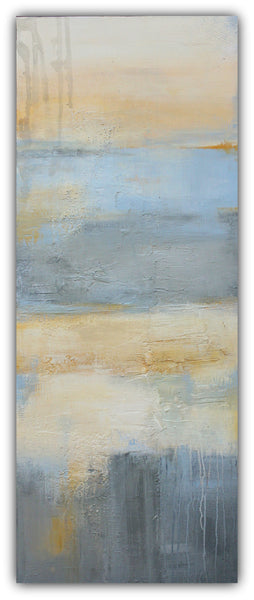 Beach Bum - Contemporary Abstract Painting - The Modern Home Co. by Liz Moran